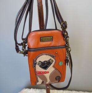 Chala Pug Crossbody Cell Phone bag